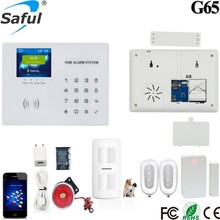 Saful Wireless Intelligent Home Security Alarm System G65 with 8 Hours Battery Time