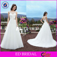2838 Cap Sleeve Ball Gown Open Back Floor Length Wedding Dress 2014 Vestido De Noiva