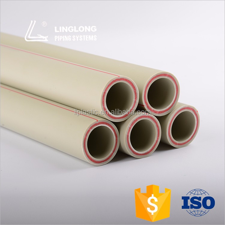 Durable in use glass fibre reinforced plastic pipe