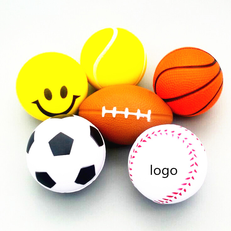 Cheap promotional toys MOQ 500pcs Stress <strong>Ball</strong> custom logo pu <strong>Ball</strong> 2019