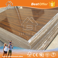 colored mdf /mdf carved panel /pvc laminated mdf board