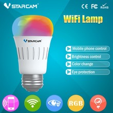 VStarcam 2015 Smart Home System E27 Base Phone APP controlled wifi led lamp