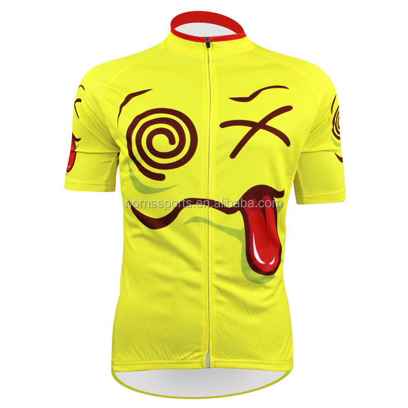 High Quality Custom Sublimated Funny Cycling Clothing