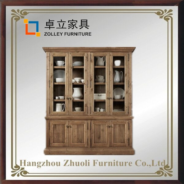 Zolley Home latest furniture nail polish whiskey display hinge Cabinet living room ZLY-0314