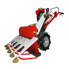 Best rice wheat reaper/ wheat rice harvesting machine/wheat rice harvester