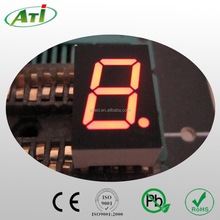 0.56 inch 1 digit led display, amber color 7 segment! one digit alphanumeric led display