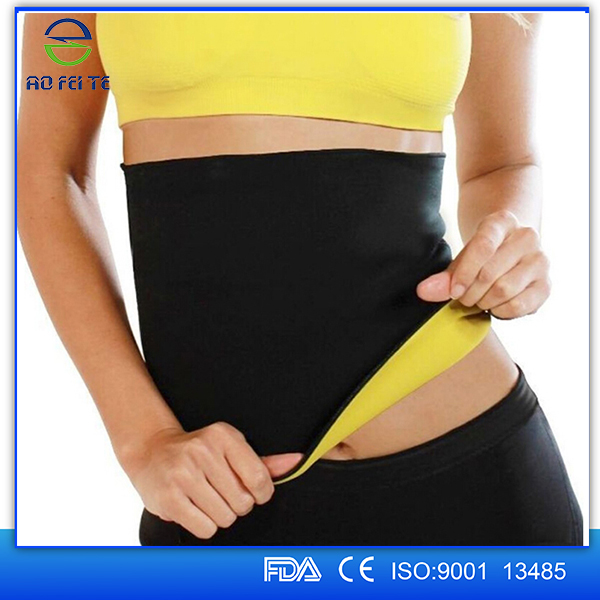 Hot Neoprene Slimming Waist Belts Body shaper Wrap Yago Fitness firm corsets