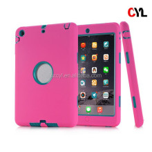 Robot holder PC silicone case tablet accessories for ipad mini