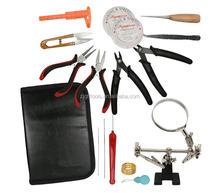 TLST-04 16 Piece Jewelry Making Supply Kit Jewelry Making and Repair Tool Kits Pliers Set