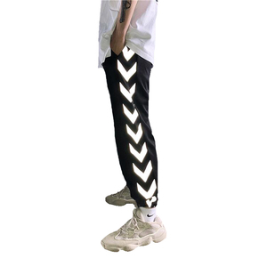 Wholesale Streetwear Men Reflective Jogger Pants