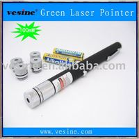 100mW 532nm Green Laser Pointer Star Pattern