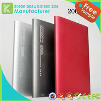 super capacitor rohs power bank 20000mAh for lenovo p780