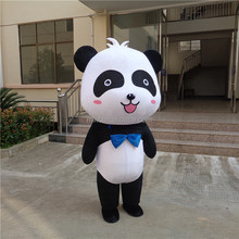 Crazy sale fast deliver cartoon movie panda mascot head
