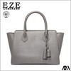 casual latest women ladies high-grade pu bag simple handbag with tassel