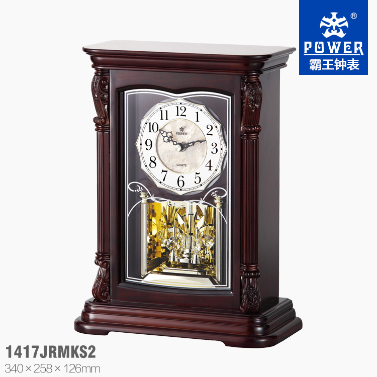 promotional gift table clock,rotating clock movement,musical clock