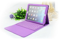 Hot selling waterproof silicone External wireless Bluetooth keyboard protective sleeve for Ipad air/pro/mini