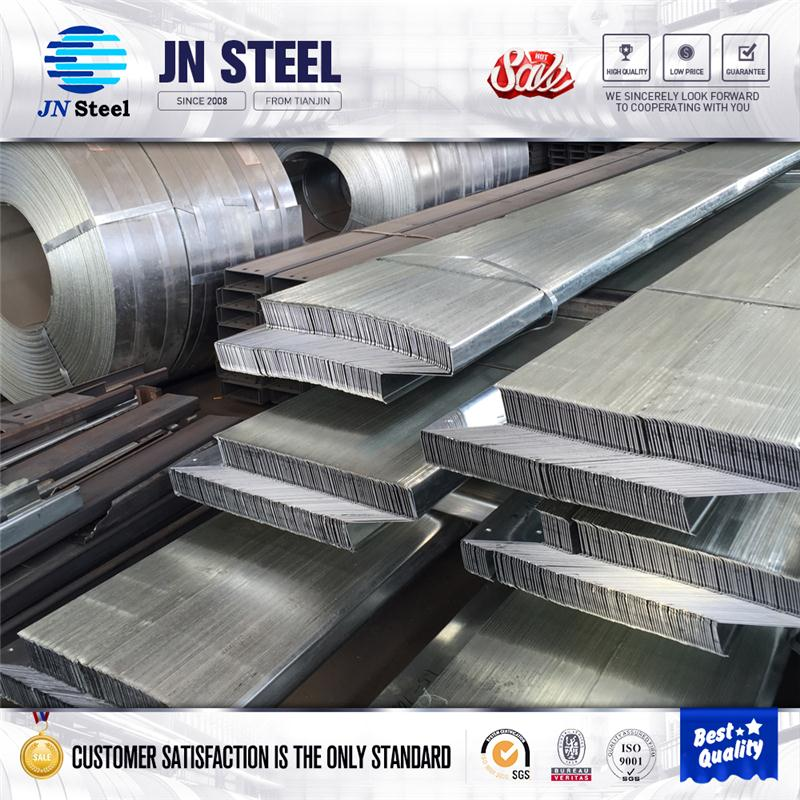 Building material Z C W L Channel section steel metal roofing purlin low price