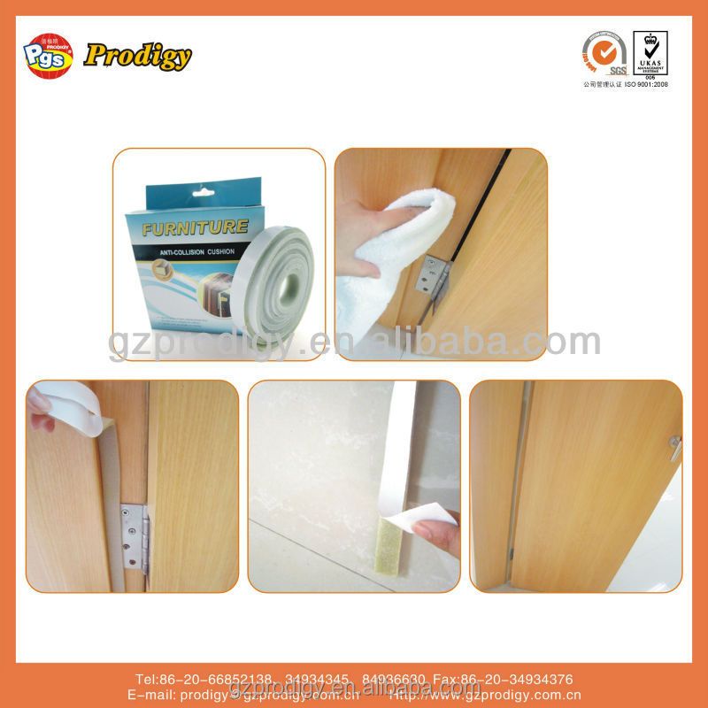 brown Anti collision adhesive door frame protector