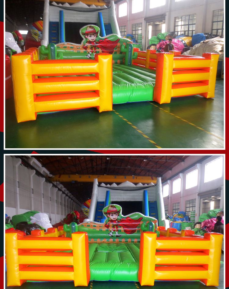 inflatable mat for mechanical bull for sale