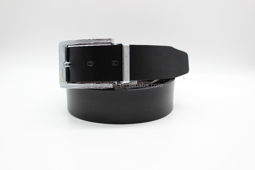 100% Genuine Leather Cow Hide Belt 40 mm with Alloy Reversible Buckle