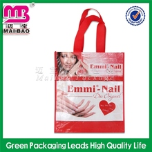 Mass production fashion ecological pp woven shopping bag