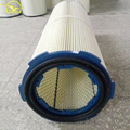 2017 widely Used dust collection cylindrical air filter cartridge for steel plant