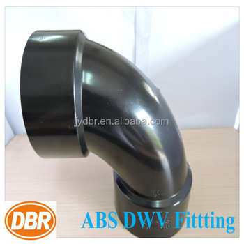 "ABS DWV 90 degree elbow 2"" astm d2466 cUPC plumb fitting"