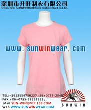 modal fabric ladies t-shirts