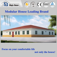 Ready made economic prefabricated houses cheap prefab homes for sale india/spain/german wholesale