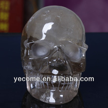 Smoky crystal skulls wholesale for table centerpieces