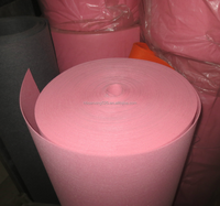 colored polyester felt, 300gsm, 3mm thickness, dyed colors