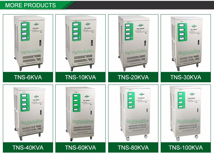 Professional Made Energy-Saving Best Price Avr 80 Kva