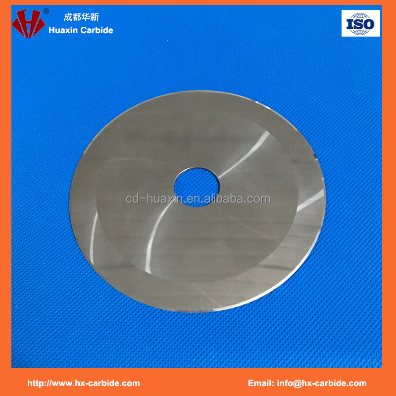 K10 K20 K30 carbide cutter disc circular knife
