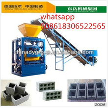 China advanced technology cement brick machine qt4-24 price list and technical parameter