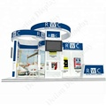 Portable exhibition stand trade show equipment stand display