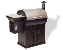 SELOWO New Deluxe Design of Wood Pellet Smoker Grill Hot sell BBQ Grills with a Trolley Cart for Outdoor Cooking