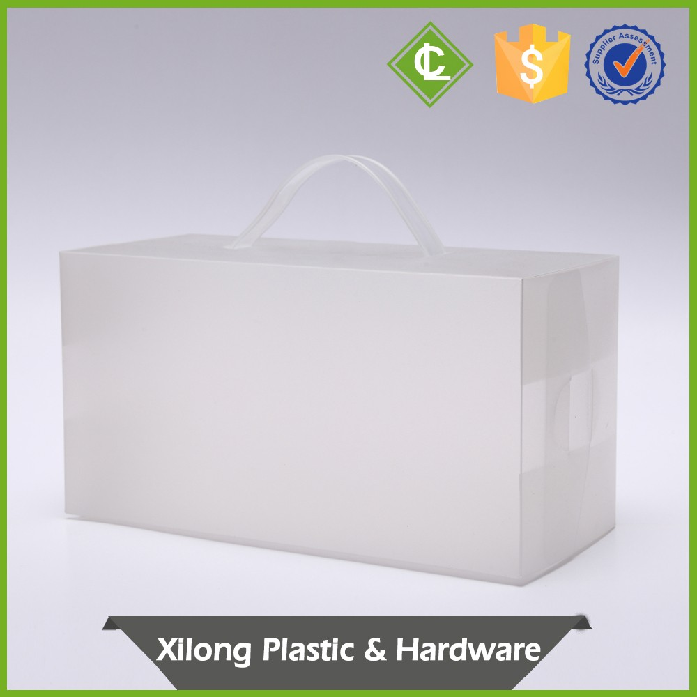 Custom Direct Price Plastic Die Apparel Box For Bird Nest With Handle Packaging Shipping