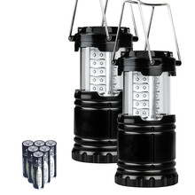 In Stock Portable Outdoor LED Camping Lantern Camping Lamp with 6 AA Batteries for camping