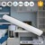 24 inch 48 inch Bathroom front mirror wall mounted linear lamp  hotel dressing room on off switch dimmable led tube light