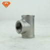 ss Stainless Steel Pipe Fittings Sanitary Connector Tee Joint A403