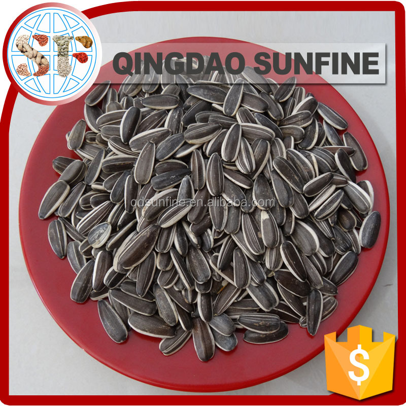 Packed roasted organic sunflower seeds