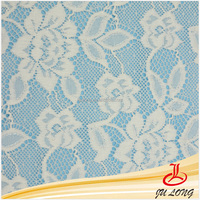 Elastic Lace Fabric For Garments and Common Designs