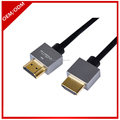 High speed 2.0 Zinc Alloy Metal Shell HDMI Cable for Home Theater HDTV Projector