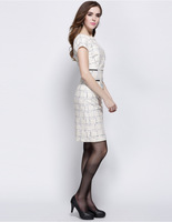 slim cut white black formal elegantladies office wear dresses dress pictures office dress for ladies
