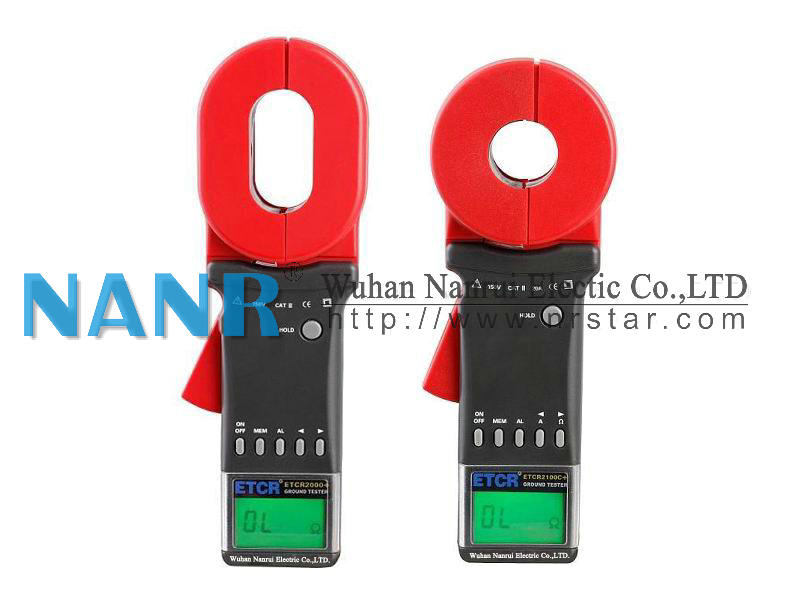 ETCR2000 Digital Clamp Meter for Measuring Earth Resistance and Leakage Current