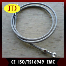 Motorcycle rear brake assembly TEFLON stainless steel braided brake line assembly