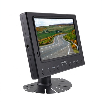 Durable 7 Inch TFT LCD CCTV test HD Monitor LCD screen support