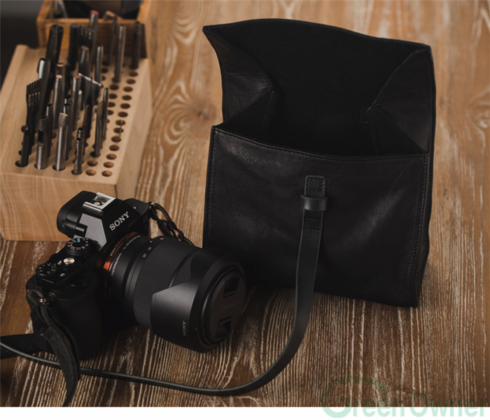 Soft Leather Camera Bag,Leather Camera Shoulder Bag,Leather Backpack Camera Bags