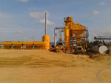 China made factory price 80t/h asphalt aggregate mixing plant in Philippines