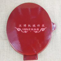 Foldable enamel cast iron skillet nonstick frying pan flat circular rib steak with meat exports skillet frying pan